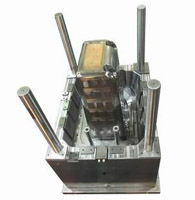 Wheeled Hamper Base mould