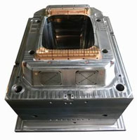 240L dustbin body mould
